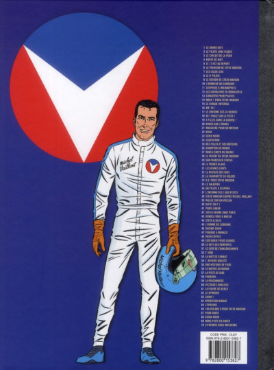 Dos Michel Vaillant tome 34 - K.O. pour Steve Warson