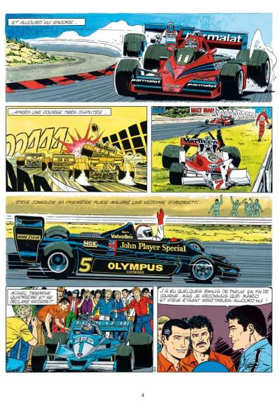 Page 2 Michel Vaillant tome 34 - K.O. pour Steve Warson