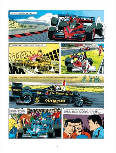 Page 4 Michel Vaillant tome 34 - K.O. pour Steve Warson