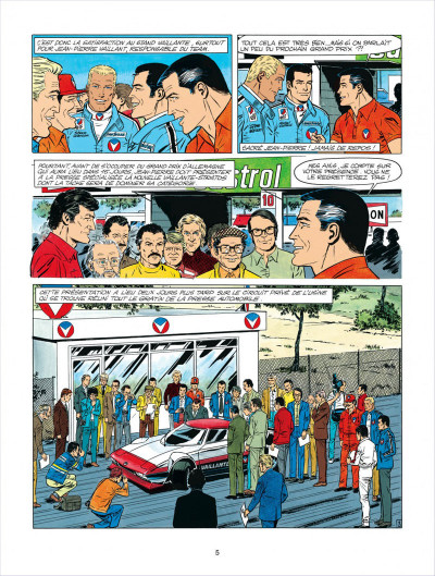 Page 5 Michel Vaillant tome 34 - K.O. pour Steve Warson