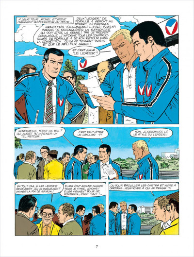 Page 7 Michel Vaillant tome 34 - K.O. pour Steve Warson