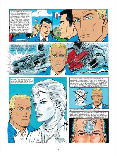 Page 8 Michel Vaillant tome 34 - K.O. pour Steve Warson
