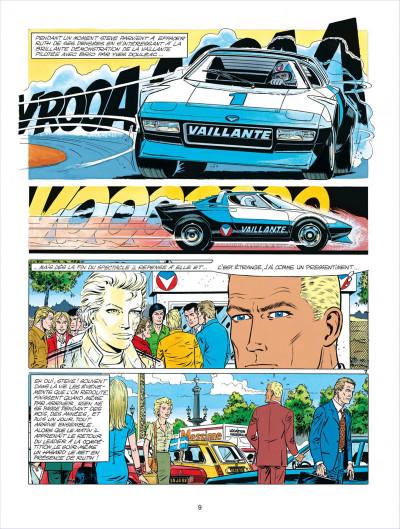 Page 9 Michel Vaillant tome 34 - K.O. pour Steve Warson