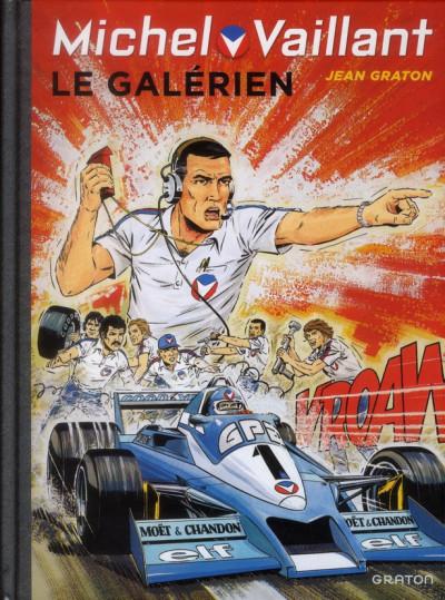 Couverture Michel Vaillant tome 35 - le galérien