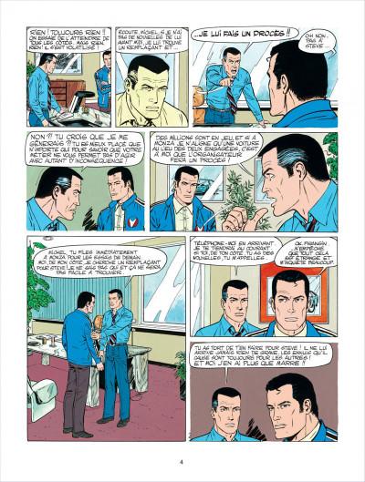 Page 4 Michel Vaillant tome 35 - le galérien