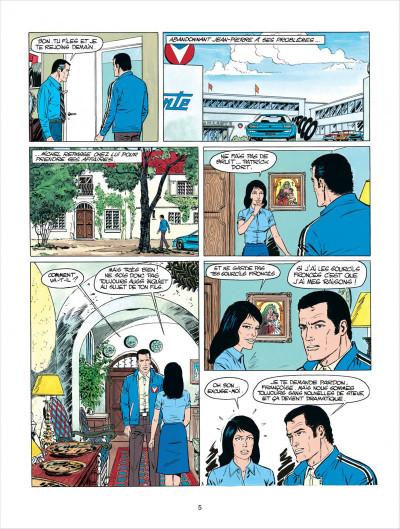 Page 5 Michel Vaillant tome 35 - le galérien