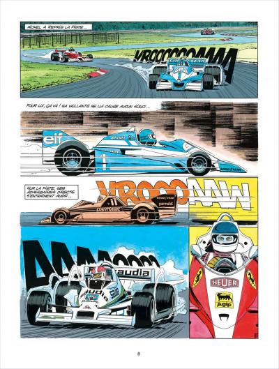 Page 8 Michel Vaillant tome 35 - le galérien