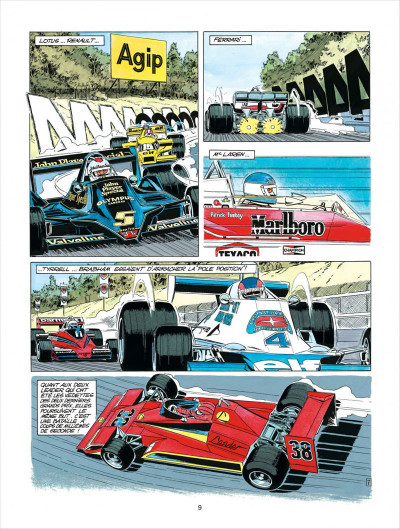 Page 9 Michel Vaillant tome 35 - le galérien