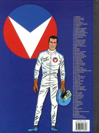 Dos Michel Vaillant tome 38 - Steve Warson contre Michel Vaillant