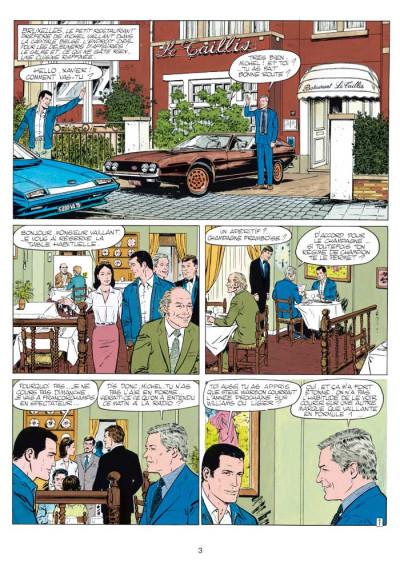 Page 1 Michel Vaillant tome 38 - Steve Warson contre Michel Vaillant
