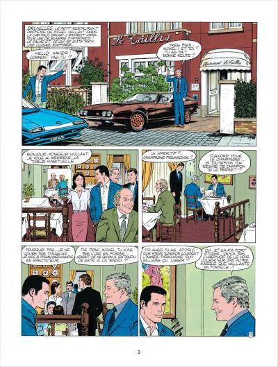 Page 3 Michel Vaillant tome 38 - Steve Warson contre Michel Vaillant