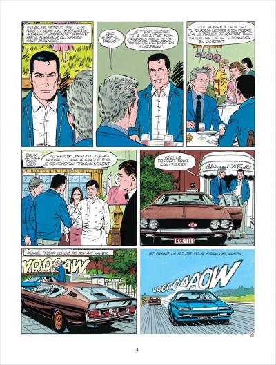 Page 4 Michel Vaillant tome 38 - Steve Warson contre Michel Vaillant