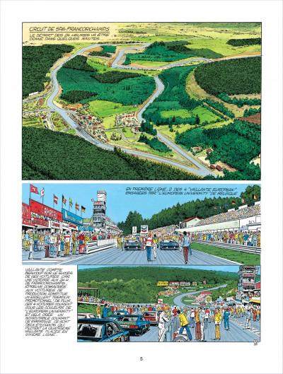 Page 5 Michel Vaillant tome 38 - Steve Warson contre Michel Vaillant