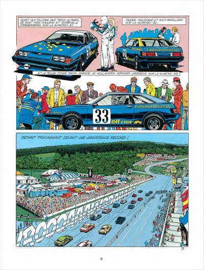 Page 6 Michel Vaillant tome 38 - Steve Warson contre Michel Vaillant