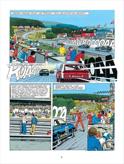 Page 8 Michel Vaillant tome 38 - Steve Warson contre Michel Vaillant