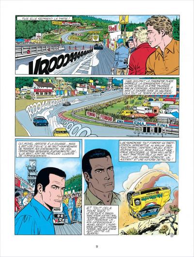 Page 9 Michel Vaillant tome 38 - Steve Warson contre Michel Vaillant