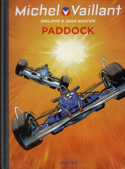Couverture Michel Vaillant tome 58 - paddock