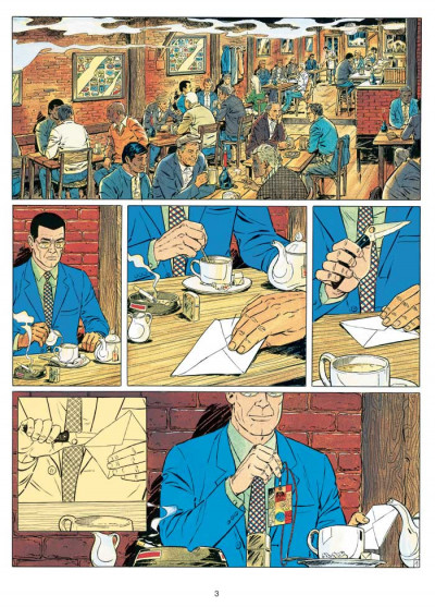 Page 1 Michel Vaillant tome 58 - paddock