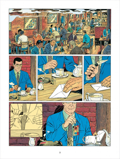 Page 3 Michel Vaillant tome 58 - paddock