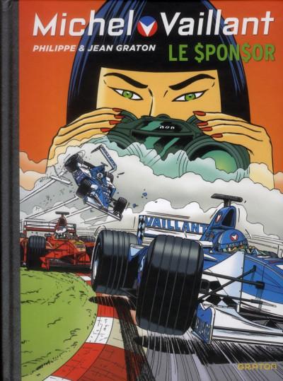 Couverture Michel Vaillant tome 62 - le sponsor