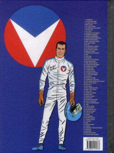 Dos Michel Vaillant tome 62 - le sponsor