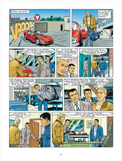 Page 5 Michel Vaillant tome 62 - le sponsor