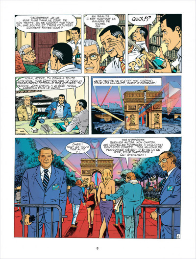 Page 8 Michel Vaillant tome 62 - le sponsor