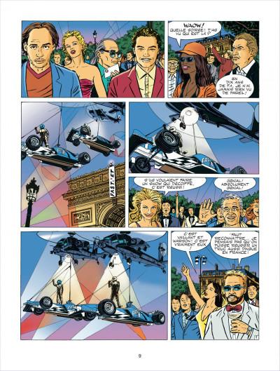 Page 9 Michel Vaillant tome 62 - le sponsor