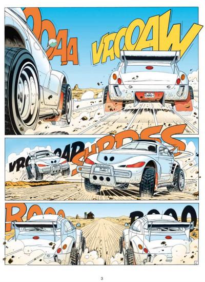 Page 1 Michel Vaillant tome 63 - Cairo