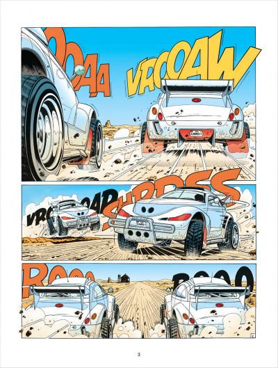 Page 3 Michel Vaillant tome 63 - Cairo