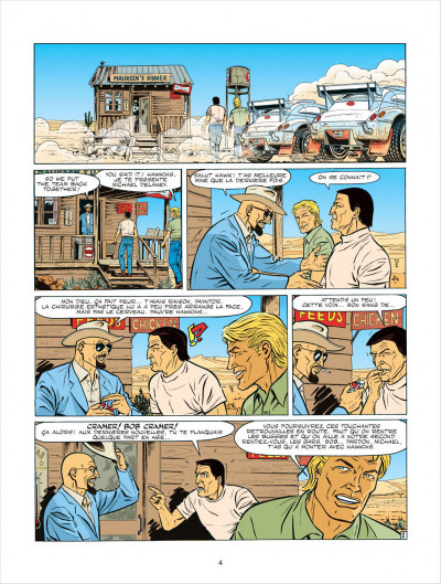 Page 4 Michel Vaillant tome 63 - Cairo