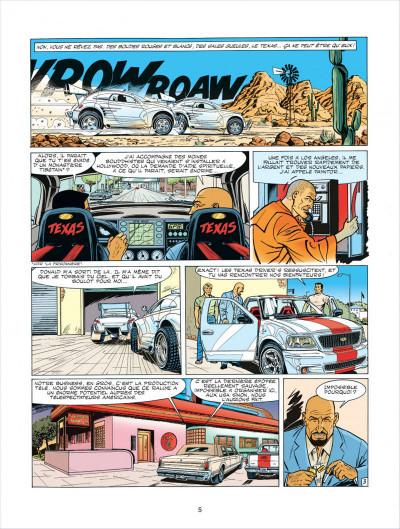 Page 5 Michel Vaillant tome 63 - Cairo