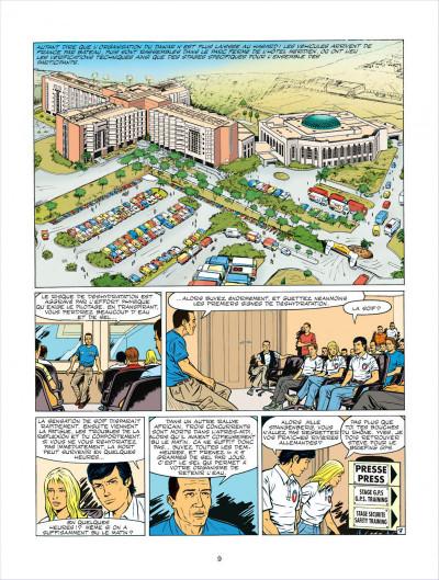 Page 9 Michel Vaillant tome 63 - Cairo