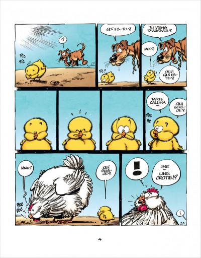 Page 4 Les aventures de Poussin 1er tome 1