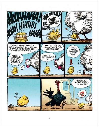 Page 6 Les aventures de Poussin 1er tome 1