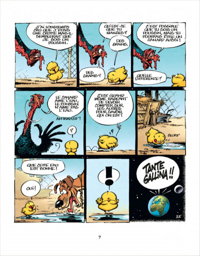 Page 7 Les aventures de Poussin 1er tome 1