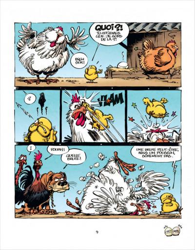 Page 9 Les aventures de Poussin 1er tome 1