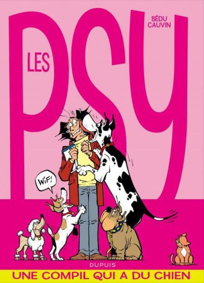 Couverture les psy - la compil tome 2 - une compil qui a du chien
