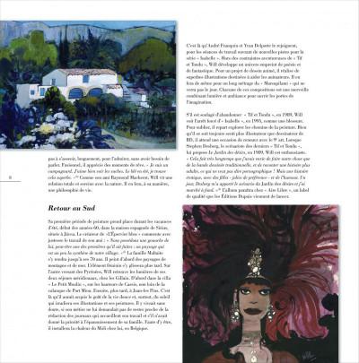 Page 8 artbook will ; le jardin de couleurs