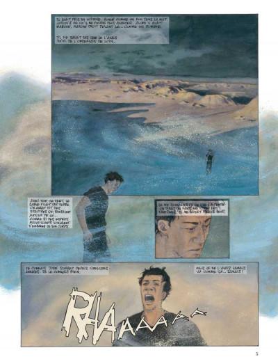 Page 1 clair obscur dans la vallée de la lune ; édition limitée