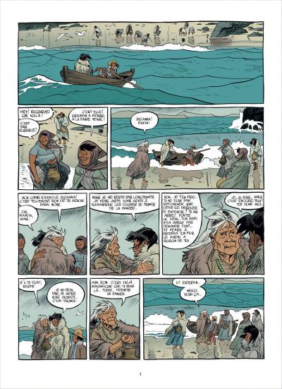 Page 1 Esteban tome 1 - le baleinier