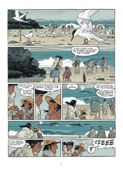 Page 2 Esteban tome 1 - le baleinier