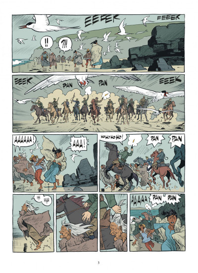 Page 3 Esteban tome 1 - le baleinier