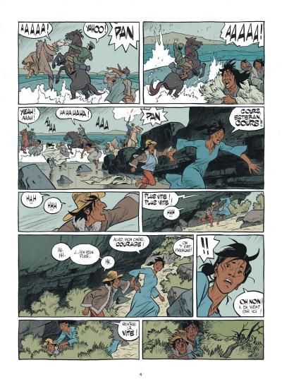 Page 4 Esteban tome 1 - le baleinier