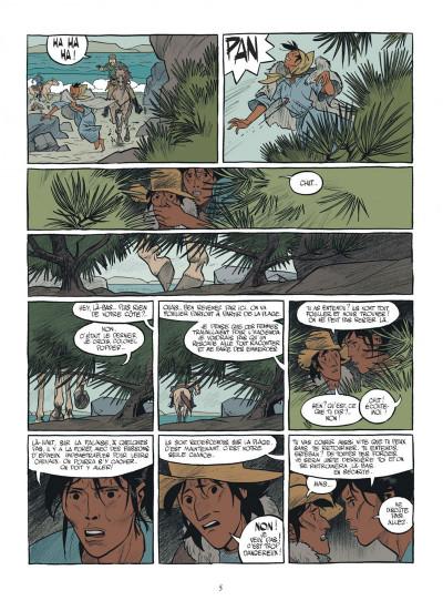 Page 5 Esteban tome 1 - le baleinier