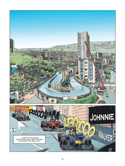 Page 3 Michel Vaillant - nouvelle saison tome 1 - au nom du fils