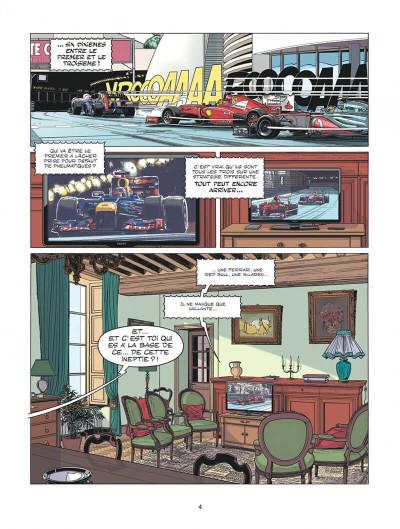 Page 4 Michel Vaillant - nouvelle saison tome 1 - au nom du fils
