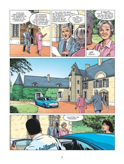 Page 5 Michel Vaillant - nouvelle saison tome 1 - au nom du fils