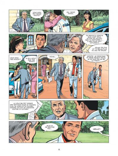 Page 6 Michel Vaillant - nouvelle saison tome 1 - au nom du fils