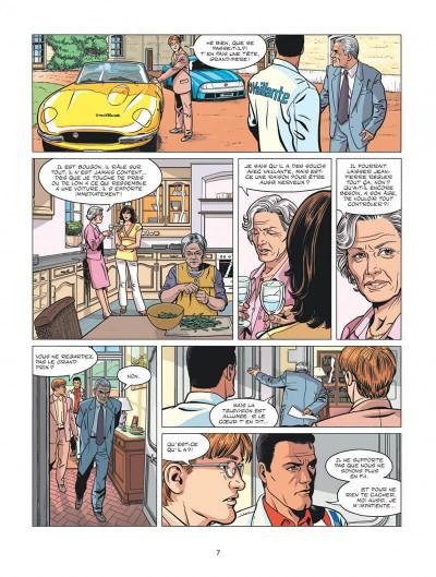 Page 7 Michel Vaillant - nouvelle saison tome 1 - au nom du fils